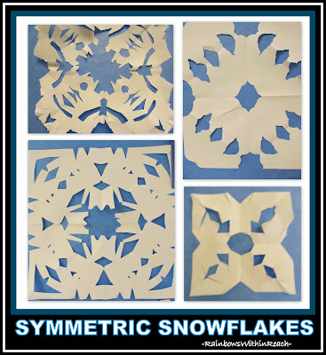 photo of: Snowflake Symmetry via RainbowsWithinReach Winter RoundUP of fun