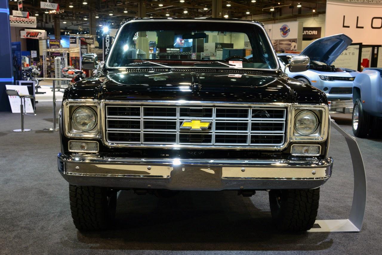 Automotiveblogz: 1978 Chevrolet Performance Classic Truck Concept