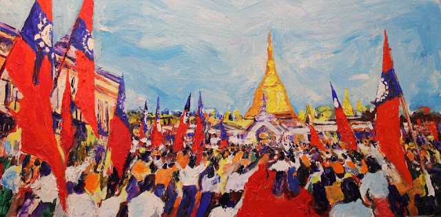 Aung Din – Peace in Rangoon