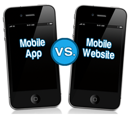 Mobile website or Mobile App