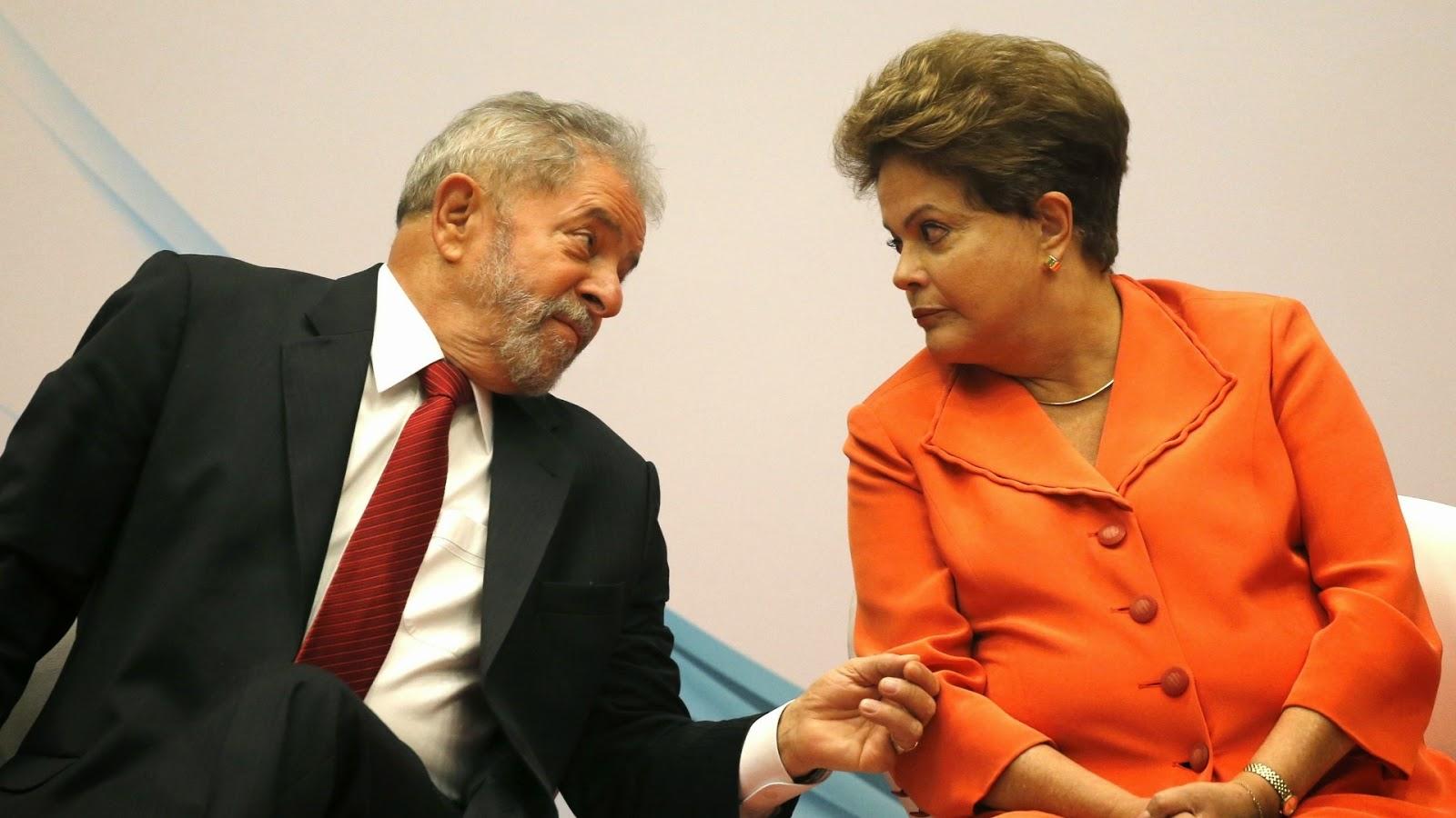 Lula e Dilma - Um Asno