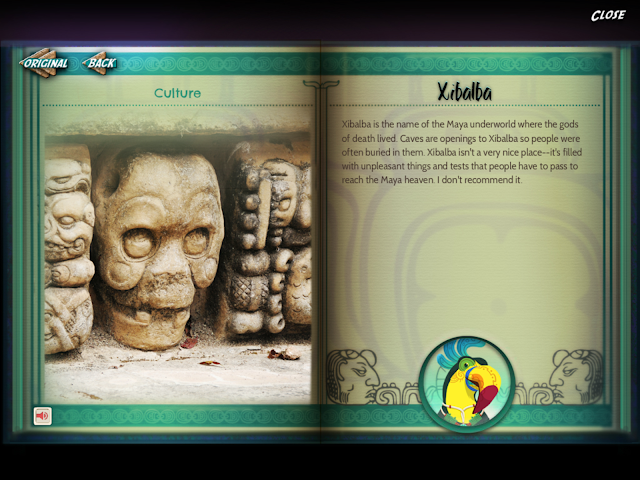 explanation of the Mayan Xilbalba (underworld)