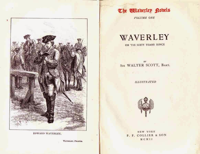 """Waverley o hace sesenta años"". Walter Scott"
