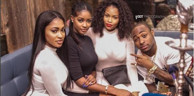 Reunion? Davido Hangs Out Rumoured Girlfriend, Sira Kante Spotted Together