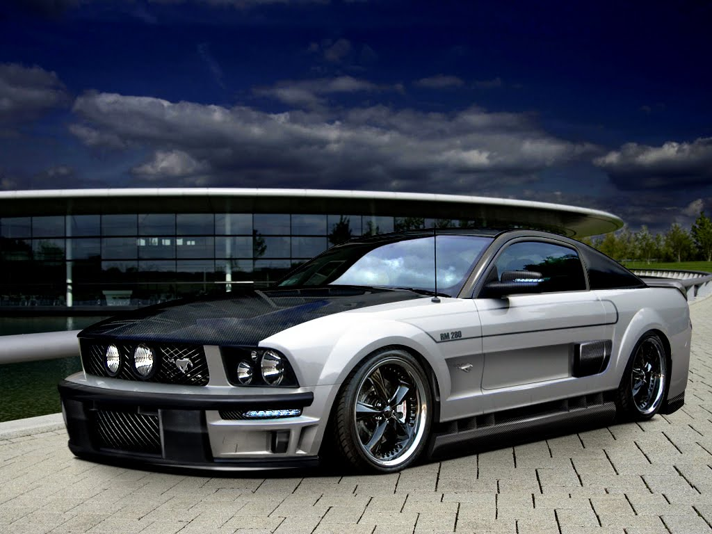 sports car: Ford Mustang Tuning Cars Pictures