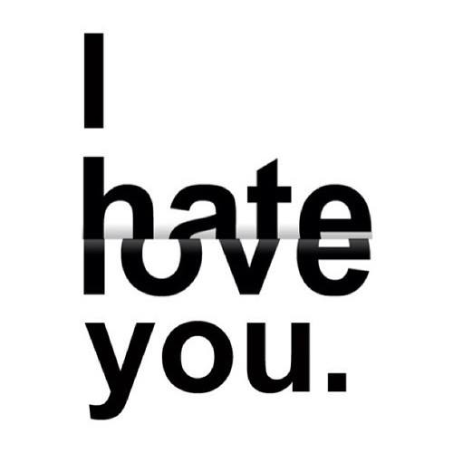 Hate-Love emoticon