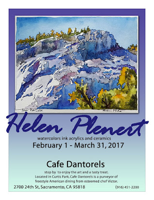My Art at Cafe Dantorels