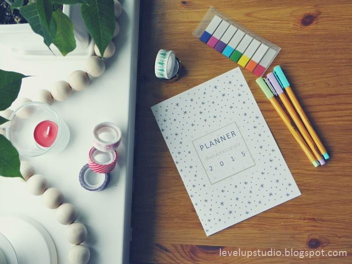 planner świąteczny | lvlupstudio