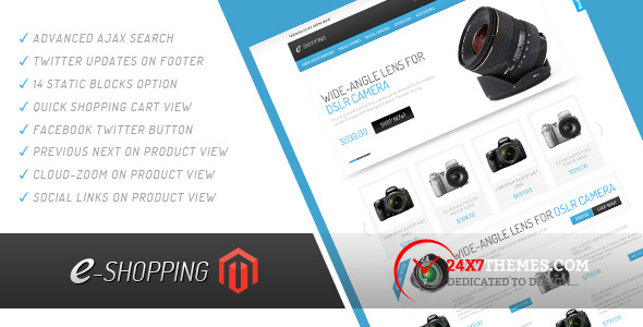 e-shopping-Magento-Theme