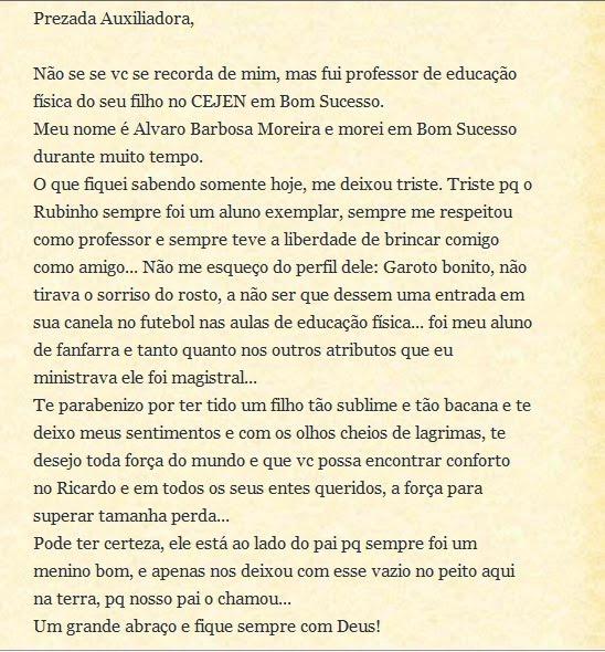 Álvaro, gratidão!