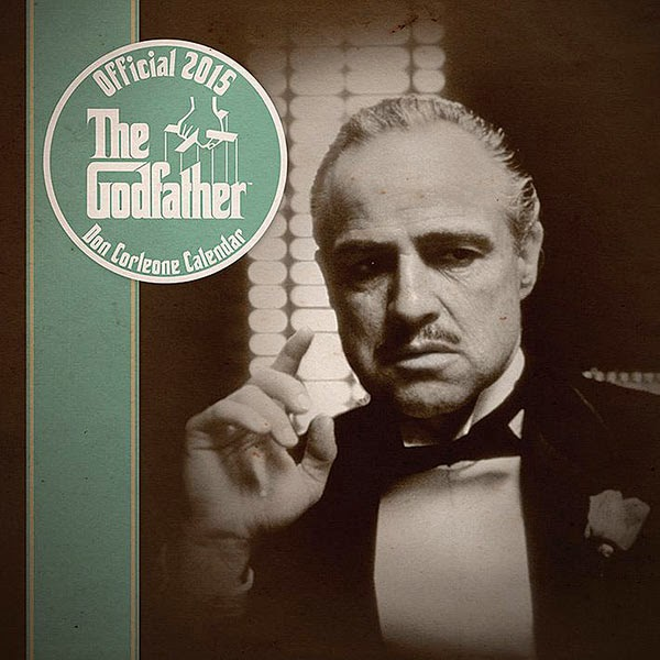 Calendario 2015 Don Corleone