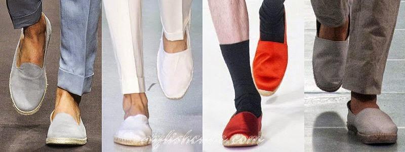 Summer 2014 Men's Footwear Fashion Trends