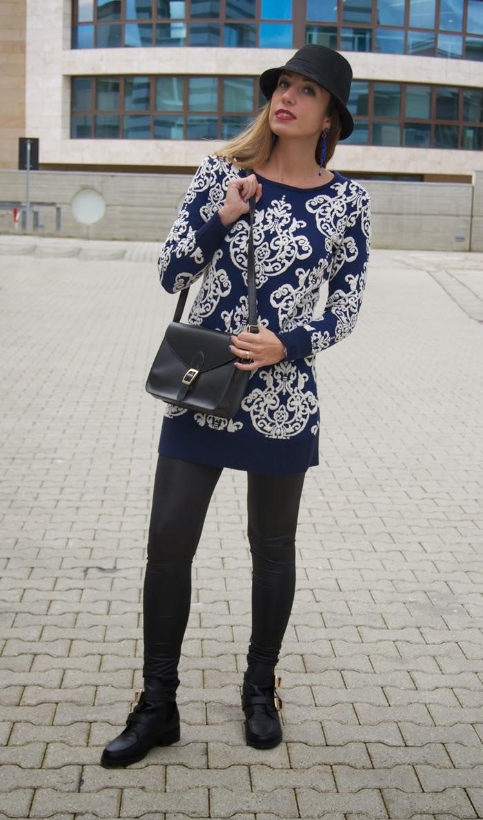 maglione stampa barocca