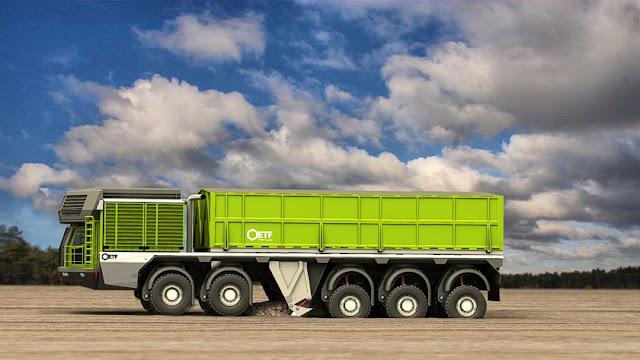 trenes de carretera autocargantes el camion que se carga solo 8
