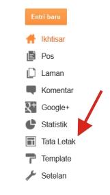 Cara Pasang Widget Tombol +1 Google+ di Blog