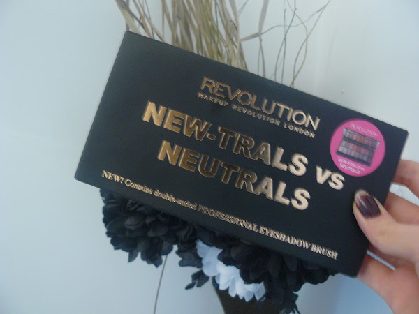 Makeup Revolution new-trals vs neutrals palette.