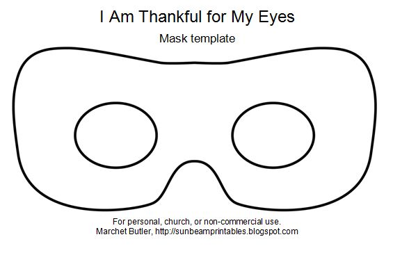 Pictures Of Eye Mask Templates Printable Kidskunst Info