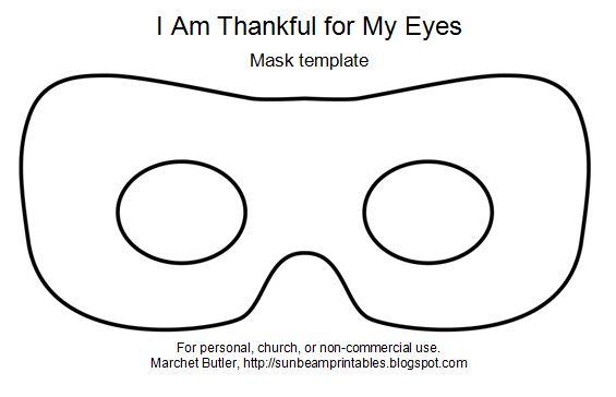mardi gras mask template