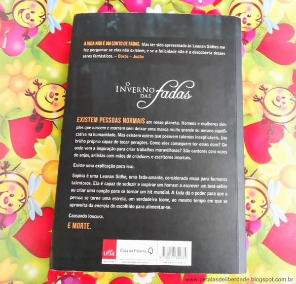 contracapa, livro, fadas, O inverno das fadas, Carolina Munhóz, resenha, trechos, fotos, sinopse,