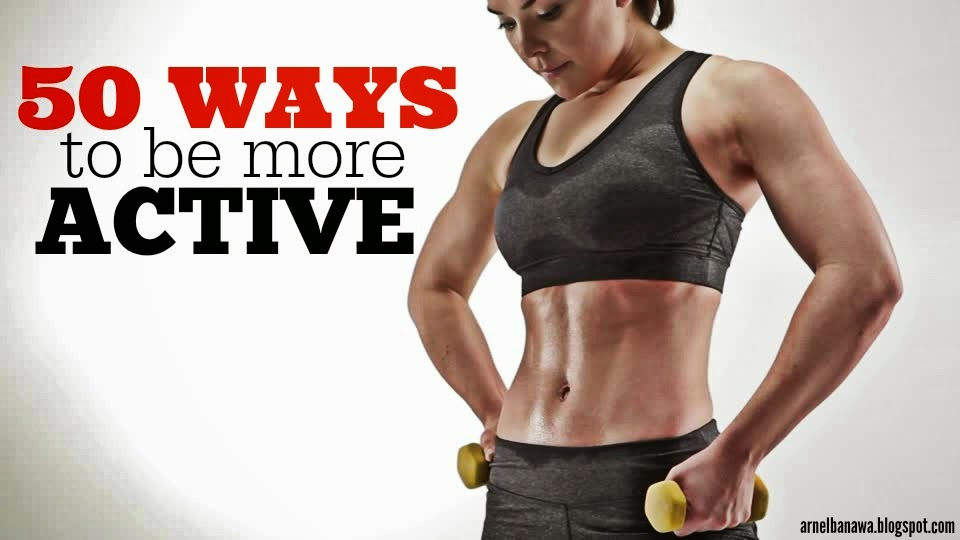 50 Ways to Be More Active - Staying Active Tips - Healthy Lifestyle Tips - Beachbody Challenge