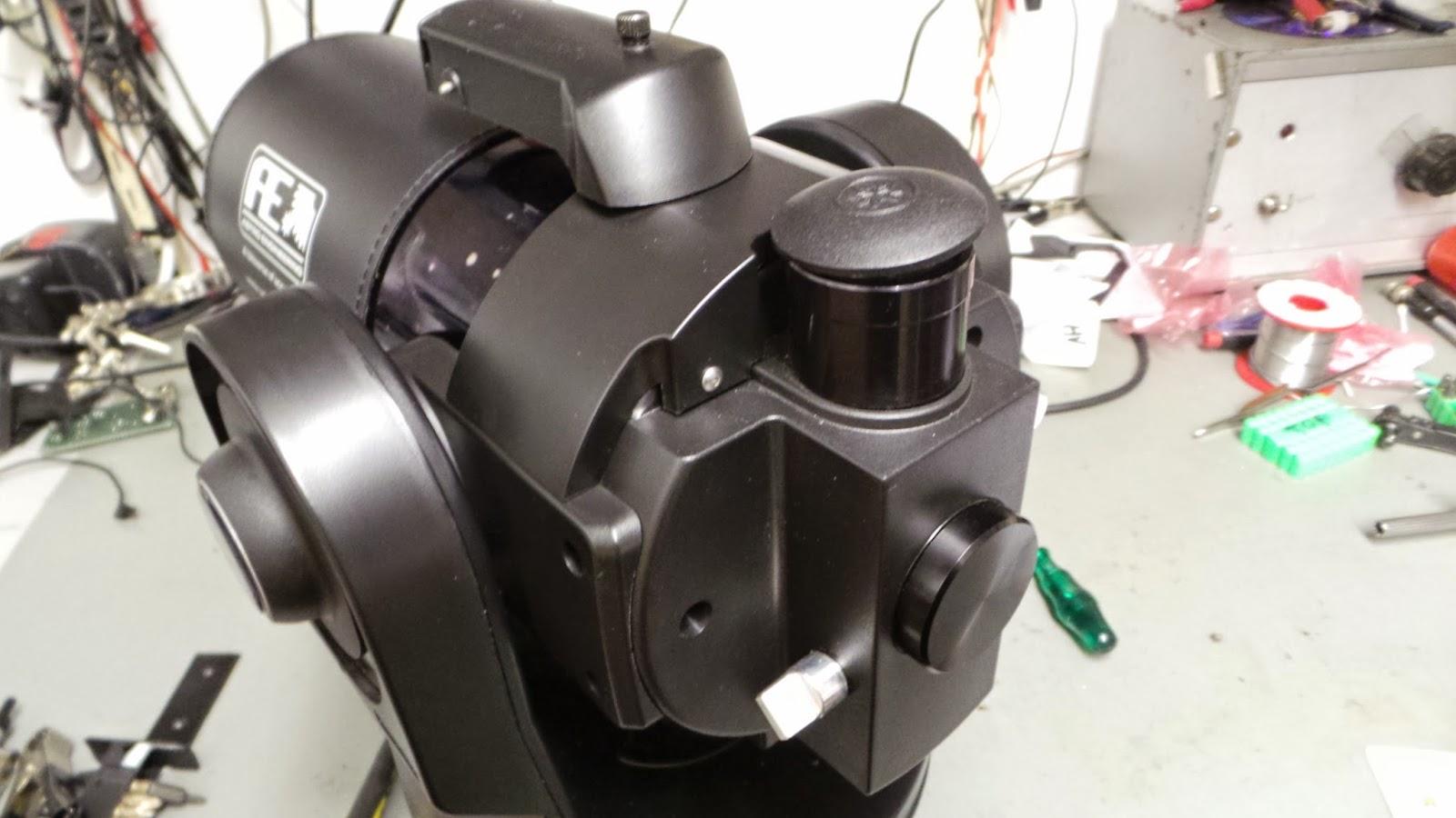 Meade EXT105 Telescope repair.
