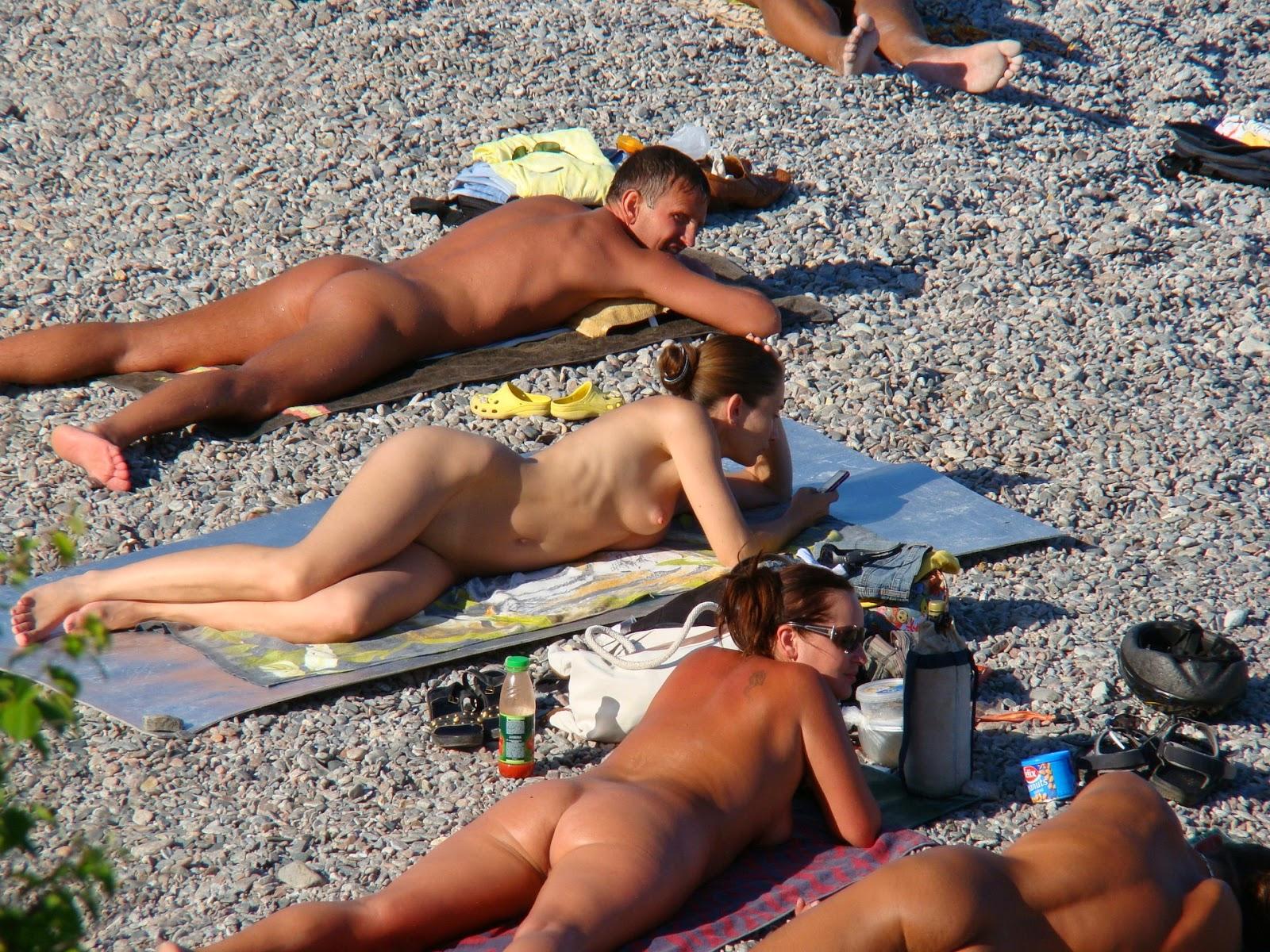 Beach russian voyeur