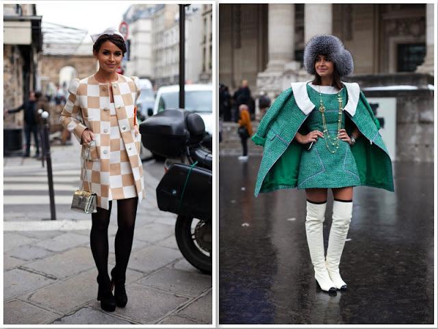 a filha do chefe street style paris russas miroslava