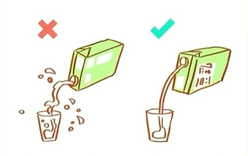 How to pour juice from Juice box..? | Idea to pour juice from juice tank | We all doing wrong | Right method to use and taking our juice from tank | taking out water from water tank | reveal unknown science