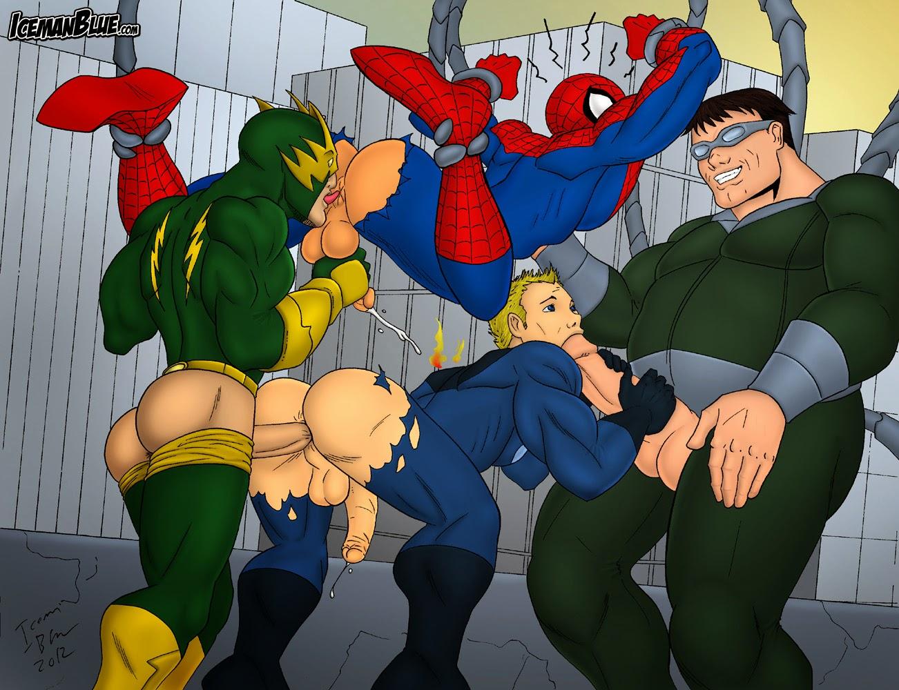 Black Spider Man Gay Spider Man - Mediaitecom