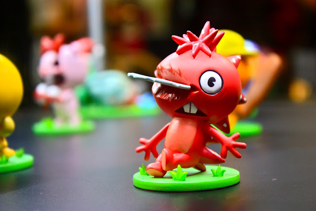 Happy Tree Friends miniatures at Singapore Toy Game and Comic Convention