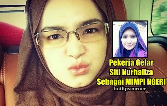 3 GAMBAR Pekerja Dedah Perangai Dan Gelar Penyanyi Siti Nurhaliza Sebagai Mimpi Ngeri