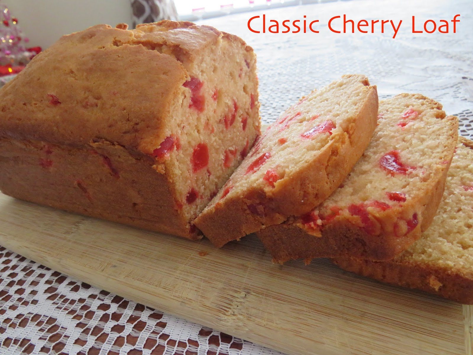 Classic Cherry Loaf