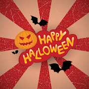 Free vector Happy Halloween Funny Poster Design