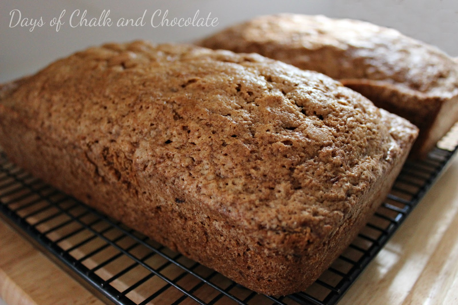 Zucchini Bread Recipe | Days of Chalk and Chocolate