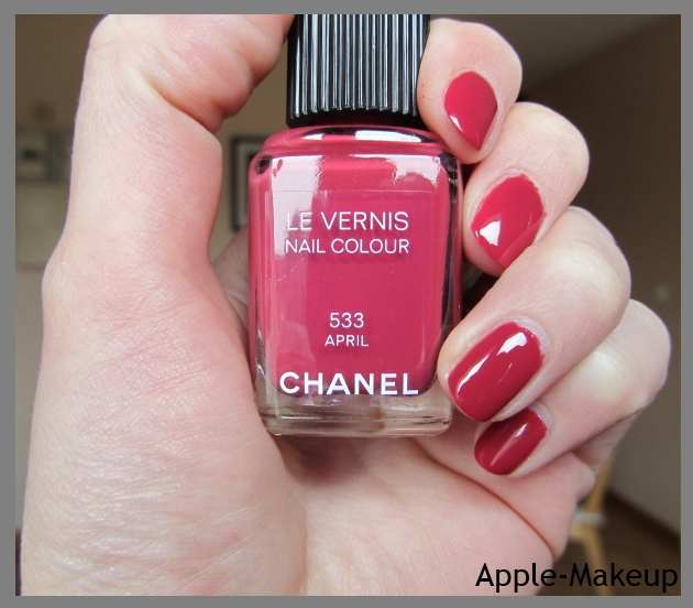 Souvent Apple Makeup: Le Vernis April par Chanel KB53