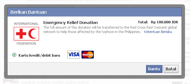 Help support the emergency relief efforts in the Philippines now