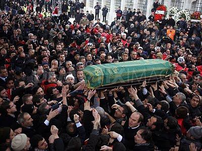 Erbakan funeral