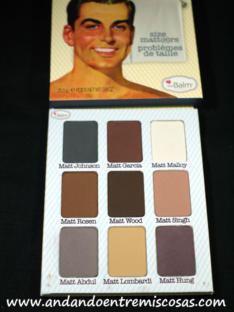 Paleta Meet Matt(e) Nude de The Balm
