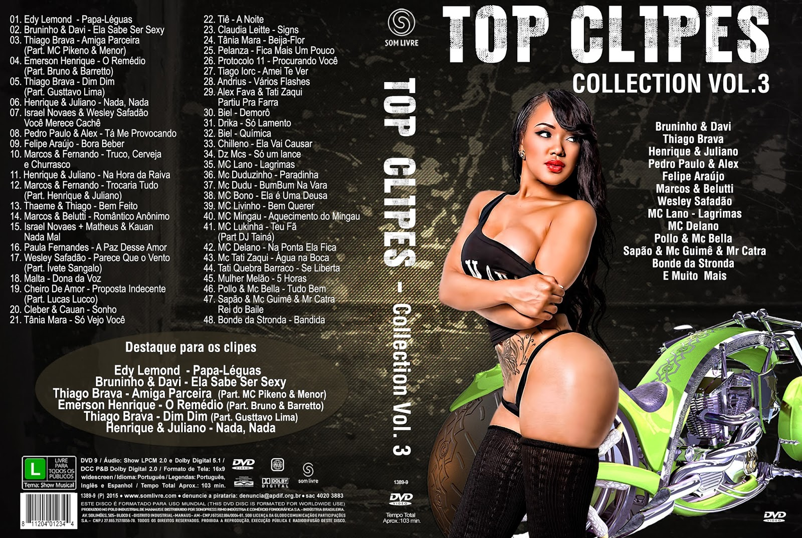 Download Top Clipes Collection Vol.3 DVD-R Top 2BClipes 2BCollection 2BVol