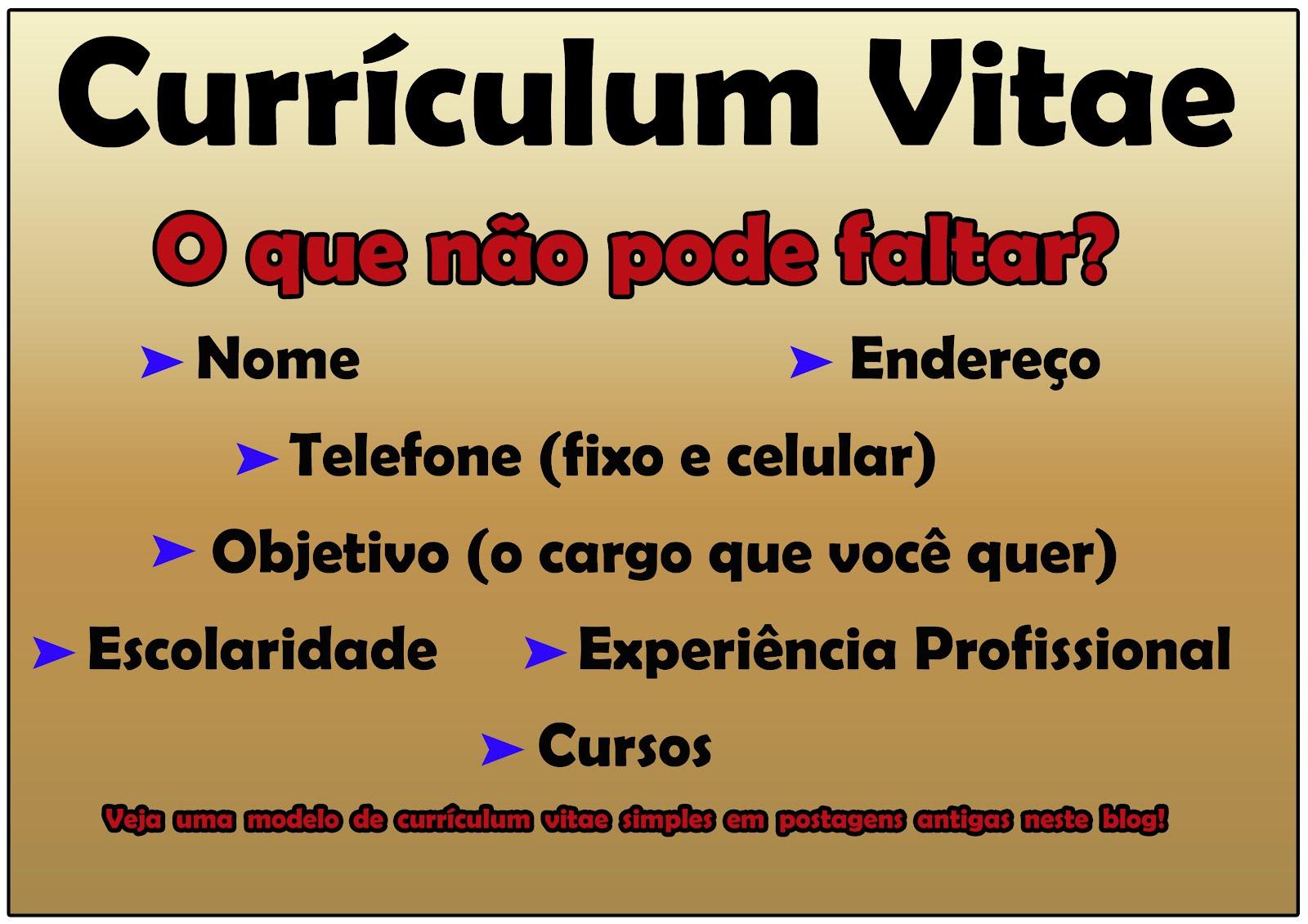 Professor Alexandre Custodio: O que não pode faltar no Currículum Vitae?