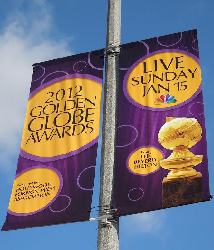 Golden Globes 2012 banner