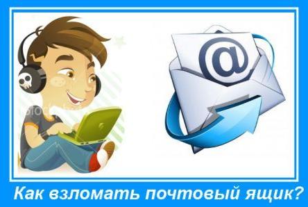 Подробное руководство о том, как взломать почтовый ящик популярных сервисов