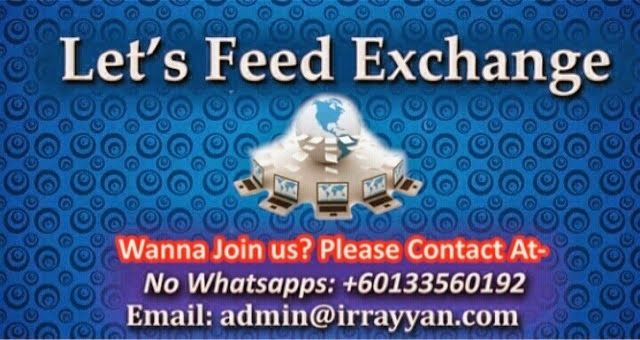 Let's Feed Exchange, adkdayah, blogger, awesome