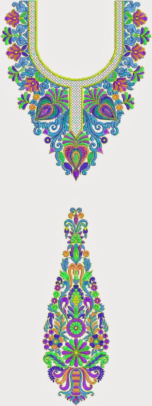 Fashion Trend Kurti Dresses With Neck Designs ~ Embdesigntube