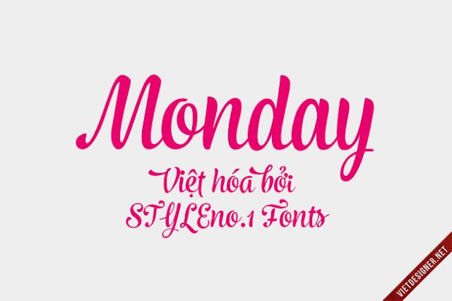 [Script] Monday Việt hóa