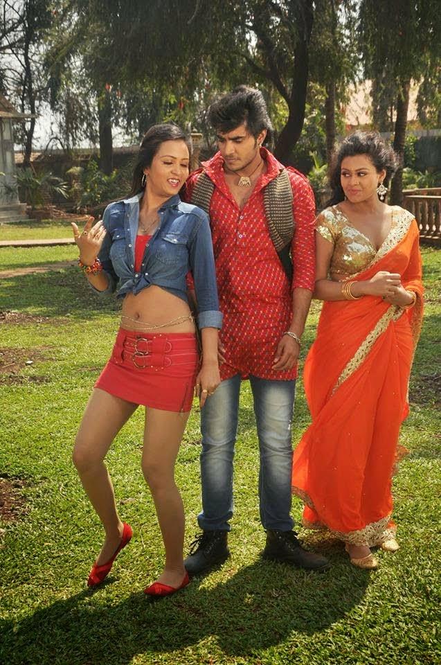 Pradeep R Pandey 'Chintu' Busy in Dulara Film Shooting