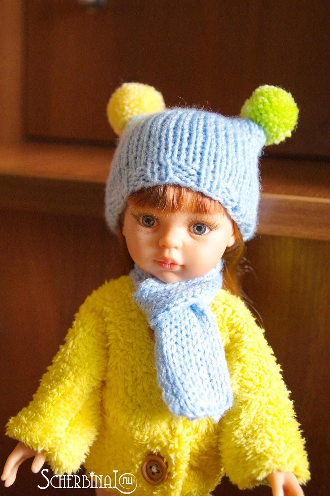 зимняя одежда для куклы Paola Reina 32 см