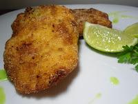 """""""Filé"""" de Mandioca Empanado (vegana)"""