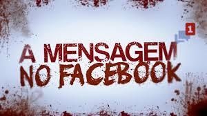 A mensagem no Facebook