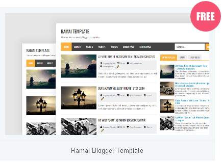 Ramai Blogger Template